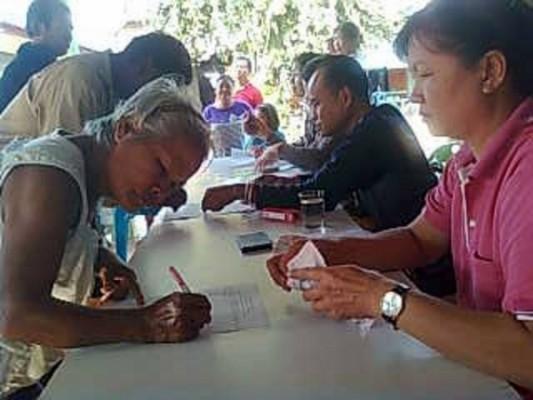 แจกเบี้ยยังชีพผู้สูงอายุและผู้พิการ และผู้ป่วยเอดส์